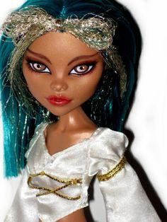 nefera de nile wig | OOAK Monster High Nefera de Nile Doll Custom Repaint ☆ | eBay