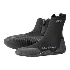 Neosport Adult Hi-Top 3mm Diving Boots, Black