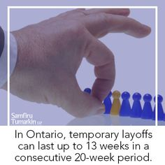 Given the ongoing challenges in today's economic climate, employees are at more risk for temporary layoffs at work. Read more about employment law and employee rights at https://stlawyers.ca/need-know-temporary-layoffs-ontario/