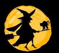 Spel: Cadeauspel heksenkring Wanneer alle heksen in de heksenkring staan, wijst de opperheks geblindoekt een heks aan...