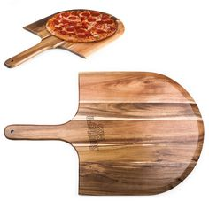 From the oven to the table with the Southern Miss Golden Eagles pizza peel is a fabulous way to serve pizza, bread or appetizers.