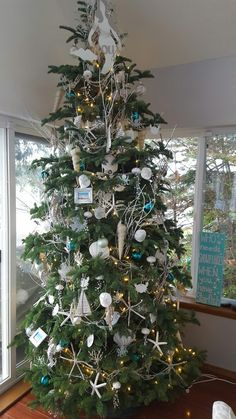coastal christmas tree complete beach christmas trees christmas tree ideas holiday tree - Coastal Themed Christmas Decorations