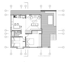 small house floor plans with loft - Small House Plans With Loft