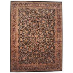 Herat Oriental Indo Hand-knotted Tabriz / Red Rug