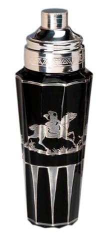 Art Deco Cocktail Shaker   art deco cocktail shaker1