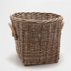LARGE RUSTIC BASKET WITH HANDLES - Baskets - Decoration | Zara Home United States of America