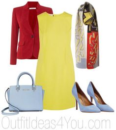 What To Wear With A Yellow Dress For A Clear Winter