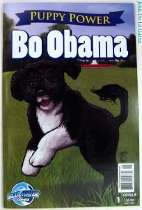 Puppy Power: Bo Obama Variant Cover B Bluewater Comics One Shot Photon$Mart$ UP4S (2009) $1.75