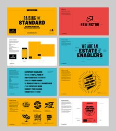 Award-winning place branding for Newington Design Ppt, Keynote Design, Powerpoint Design Templates, Slide Design, Brochure Design, Book Design, Branding Design, Design Layouts, Flyer Template
