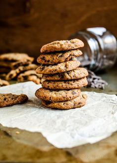 Filing inspiration /-/ Coffee Candy Choc Chip Cookies