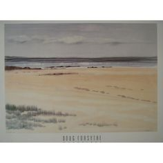 Beach Scene Poster by Doug Forsyth 81cms by by Posterperfection, £14.99