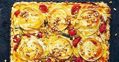 Fransk paj à la Chevre Chaud | Recept från Köket.se Vegetable Pizza, Lasagna, Food Inspiration, Cauliflower, Lunch, Vegetables, Ethnic Recipes, Photos, Omelette
