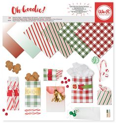 We+R+Memory+Keepers+-+Oh+Goodie+Collection+-+Christmas+-+12+x+12+Paper+Pad+-+Glassine+Holiday+at+Scrapbook.com