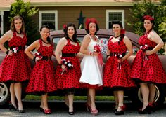 Bridesmaids idea
