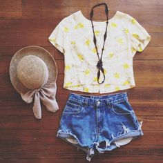 Vintage breezy summer outfit - i really adore this shirt!
