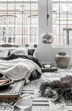 23 Scandinavian Inspired Bedrooms. Messagenote.com Why not to get Scandinavian style to you home Use fur  light colors  and lots of wood