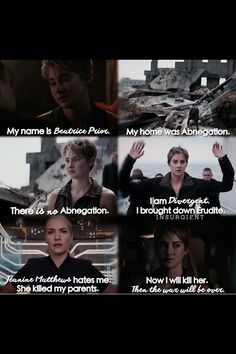 I love this hunger games & divergent overlap