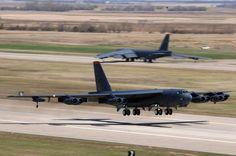 B-52H Stratofortresses