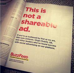 The unshareble ad | BuzzFeed