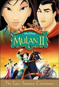 Cartoon Summary for Mulan II from Walt Disney Television Animation, DisneyToon Studios, SD Entertainment. Find out what Mulan II is all about! Kid Movies, Cartoon Movies, Great Movies, Movie Tv, Comedy Movies, Disney Films, Walt Disney, Disney Crossovers, Watch Mulan