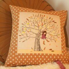 Belle & Boo - My Favourite Spot Autumn Cushion