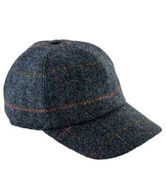 Blue Tweed Baseball Cap Tweed Coat 87ab7bb03037