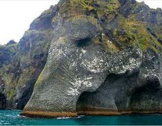 ☮ American Hippie Art ☮  Elephant Rock formation .. Iceland