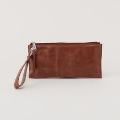 VIDA Leather Statement Clutch - PERSIMMON by VIDA 6wepa1V