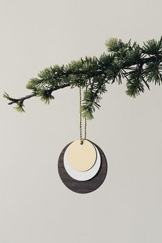 Wooden Jewellery Circle by Ferm Living at Dotmaison Toddler Christmas, Cozy Christmas, Scandinavian Christmas, Christmas Fashion, Christmas 2014, White Christmas, Christmas Stockings, Christmas Decorations, Christmas Ornaments
