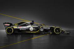 """ルノーF1 「R.S.18の画像はあくまで""""カラーリングお披露目仕様""""」  [F1 / Formula 1]"""