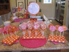 lollipop cookies as favors