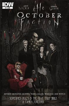Preview: The October Faction #1 by Steve Niles & Damien Worm