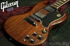 Gibson SG '61 Reissue Satin Worn Brown