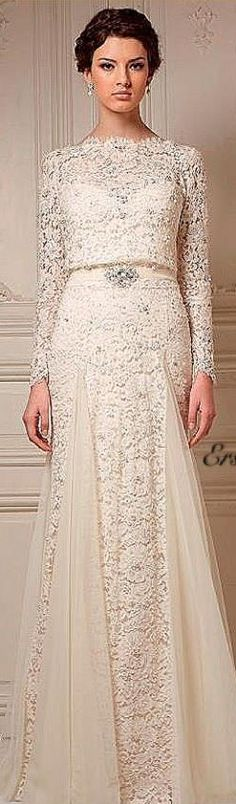 Ersa Atelier Couture 2013 #bridal #wedding #gown #dress