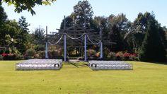 Botanical Garden of the Ozarks | Fayetteville, Arkansas | Arbor Ceremony