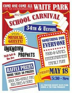 10 best school carnival flyers images on pinterest school carnival
