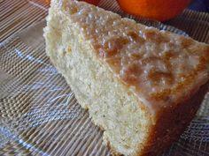Απλό νηστίσιμο κέικ, με άρωμα πορτοκάλι – κανέλα και γλάσο με άρωμα μαστίχα