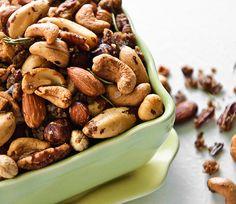 Party Snack Recipes: Glazed Nuts