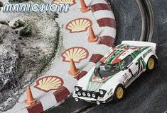 ManicSlots' slot cars and scenery: GALLERY: Ninco Lancia Stratos Slot Car Tracks, Slot Cars, Monte Carlo Rally, Car Makes, Rally Car, Car Manufacturers, Car Ins, Diorama, Automobile