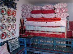 Wandering Pilgrim - Kalotaszeg, Transylvania (more photos) We were. Pilgrim, Hungary, North America, Bed Pillows, Pillow Cases, Folk, Traditional, Quilts, Adventure