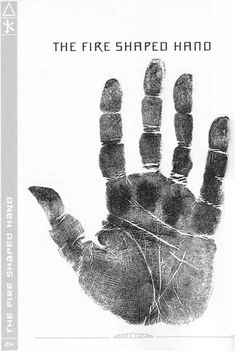 5 Element chirology: the fire shaped hand.