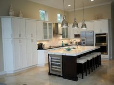Inspired by the White Sand Beaches of Florida's Gulf Coast - transitional - kitchen - miami - Inspired Interiors by Wendi, IIDA