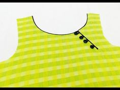 In this video I will teach you how to make a Side Silt Boat Neck in very simple way. Chudithar Neck Designs, Neck Designs For Suits, Neckline Designs, Dress Neck Designs, Designs For Dresses, Blouse Designs, Salwar Neck Patterns, Salwar Neck Designs, Churidar Designs