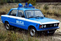 Police Vehicles, Emergency Vehicles, Police Cars, Police Uniforms, Eastern Europe, Old Cars, Fiat, Eagles, Red And Blue