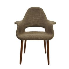 Replica Eames/Saarinen Organic Chair - Textured Fabric