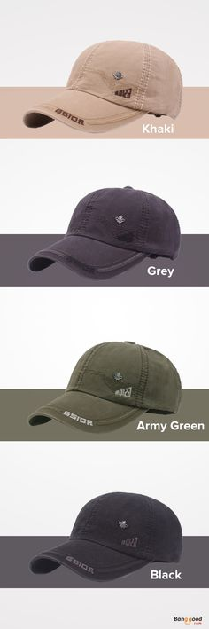 ec387892327 Mens Letter Embroidery Cotton Baseball Cap Outdoor Sports Visor Snapback  Caps Adjustable