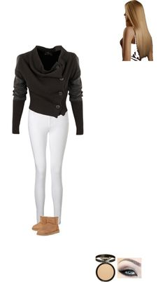 """""""High School"""" by cheeks24 ❤ liked on Polyvore"""