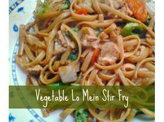 Empower Network - Easy Chicken Vegetable Lo Mein. Use veggie chicken.