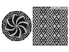 PATTERN: MONOCHROME Set of wayuu mochila patterns wayuu