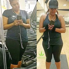 """Congrats to my girl Cece for losing 15 lbs (total 25 LBS) 💥💥💥 I'm SO PROUD OF HER!!! She's lost body fat & gained muscle which means that with the Herbalife Meal Plan she's toning as she's losing weight!🔥 anyone else needs to lose weight & wants to tone up & feel amazing ? 😊🙌🏼 DM me for more info about our 3 day trials 🔹https://www.goherbalife.com/lizbeth 😁 ------------------------------------------ """"Consumers who use Herbalife Formula 1 twice per day as part of a healthy lifestyle…"""